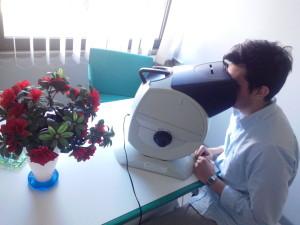 visiotest medicina del lavoro Santa Chiara